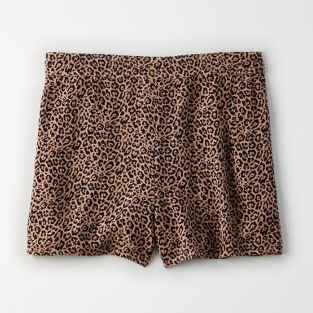 Leopard Shorts/Graphic Tee - Flatlay