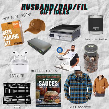 Husband/Dad/FIL Gift Guide!