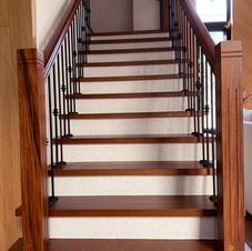櫸木實木樓梯踏板