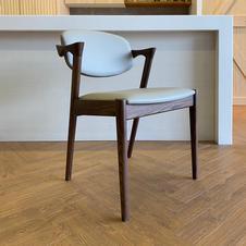 實木扶手餐椅