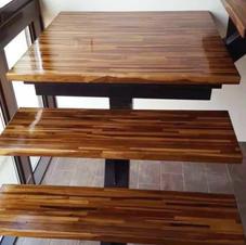 印尼柚木集成樓梯踏板