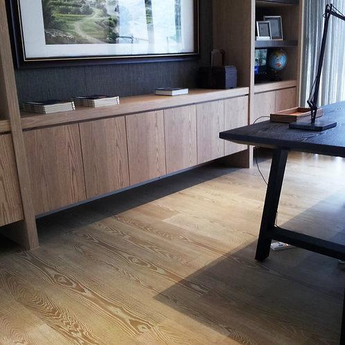水曲橡木海島型 - 6.4寸150條木地板