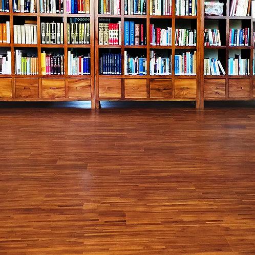 實木系列 - 柚木集成木地板