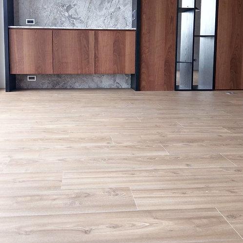 超耐磨木地板海島型 - 6.4寸手刮系列