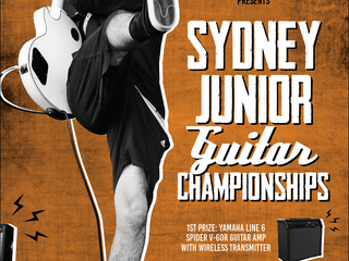 SYDNEY JUNIOR GUITAR CHAMPIONSHIPS