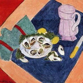 Henri Matisse in 1940 Nice, France.
