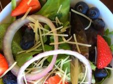 Fresh Fruit and Arugula Salad
