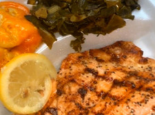 Fresh Grilled Salmon