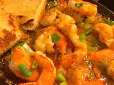 Hennessy Honey BBQ Grilled Shrimp