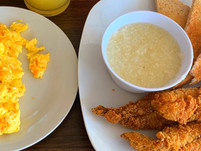 Fish and Grits (Side of Eggs)