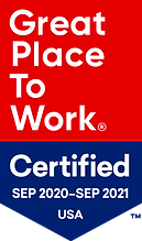 Great Place to Work Certified Badge - 20