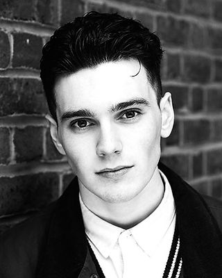 Jack Rowan, Born to Kill, photographed in Hampstead