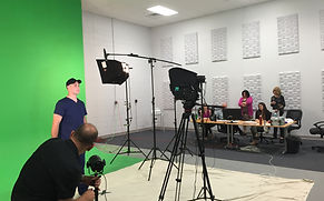 Acoustically Treated Video Studio