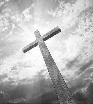 Cross in sunlight