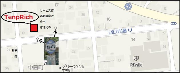 アクセスの地図画像2