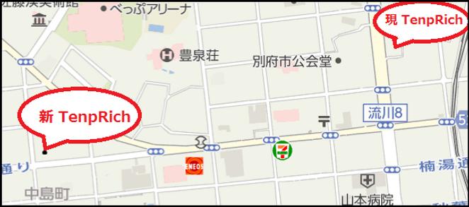 アクセスの地図画像