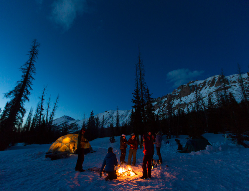 Evenings at camp