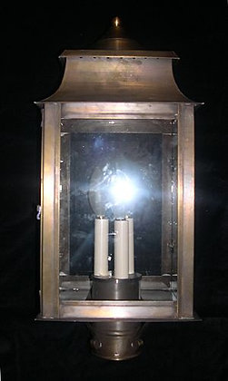Square Top Post Light