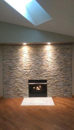Fireplace Vorhees