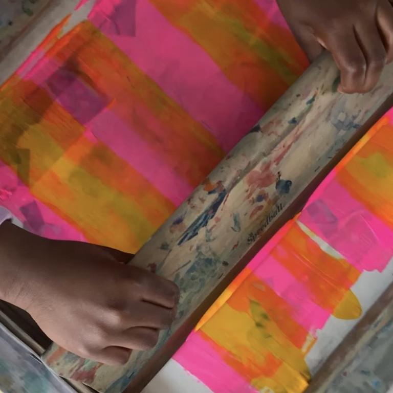 Half-term Activities: Screen Printing for Teenagers