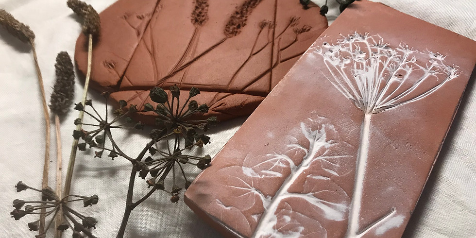 Botanical Clay Tile Demonstration