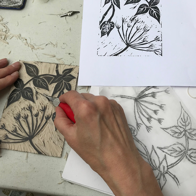 Linocut for beginners ONLINE
