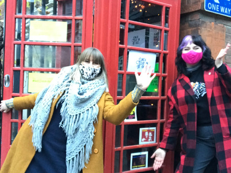 Artists think outside the (telephone) box
