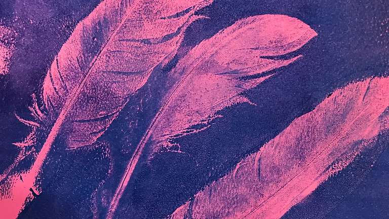Gelli prints and monotypes with Young at Art