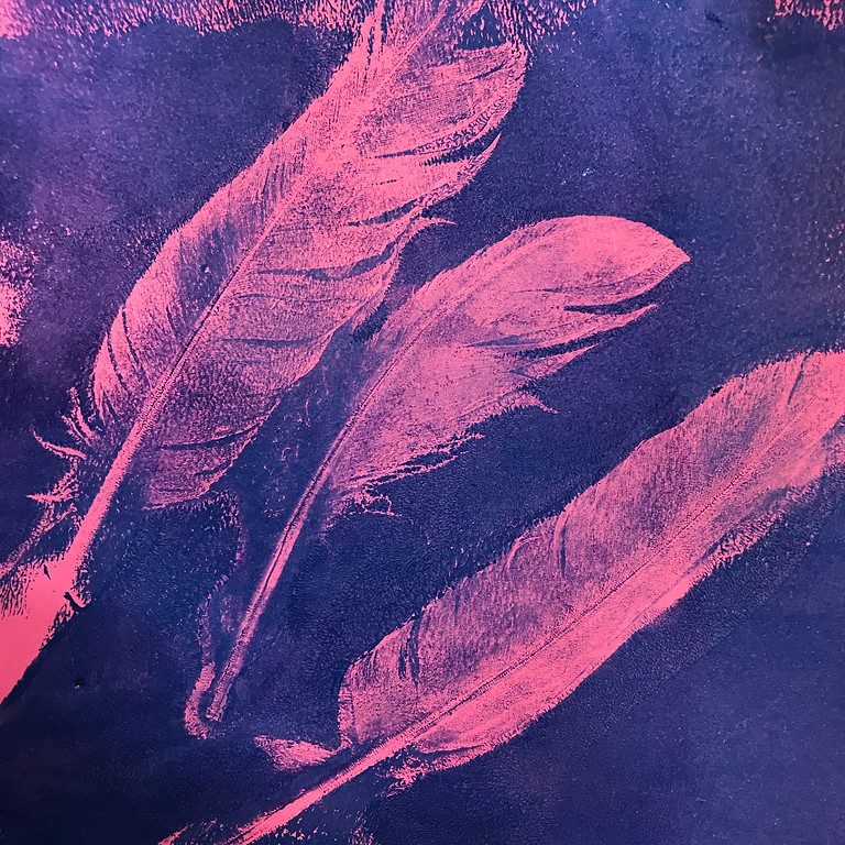 Gelli printing and monotypes ONLINE