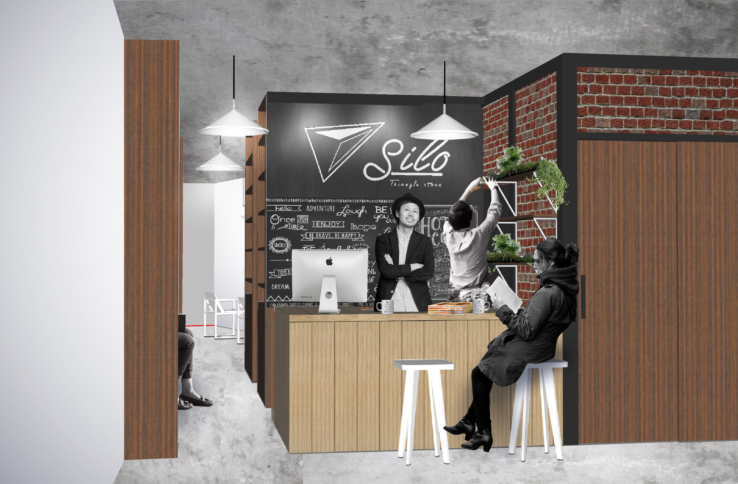Silo -Triangle Store- IDEA
