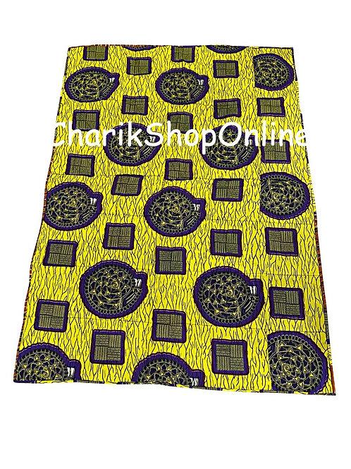 African print blanket Blue Dial