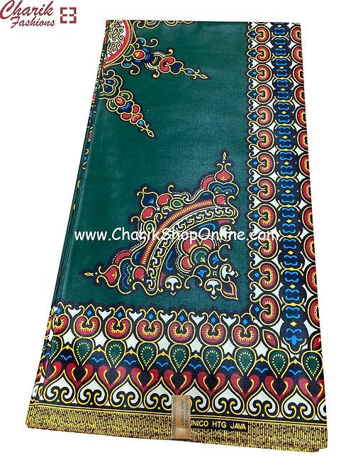African Wax Print  6 yards/ Ankara fabric/ Crown Dashiki Angelina ankara/