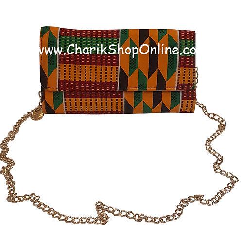 Ankara purse/ Ankara bag/African print bag Kente purse