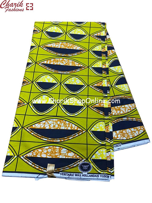 African Wax Print  6 yards/ Ankara fabric/ Looking eyes ankara/
