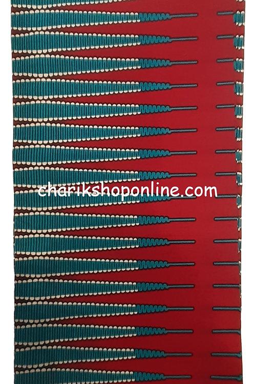 African Wax Print 6 yards/ Ankara fabric/ Blue Needle ankara/