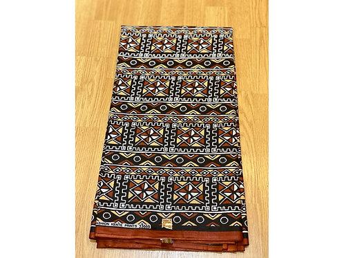 African Wax Print 6 yards/ Ankara fabric/ Diamond Mudcloth ankara/