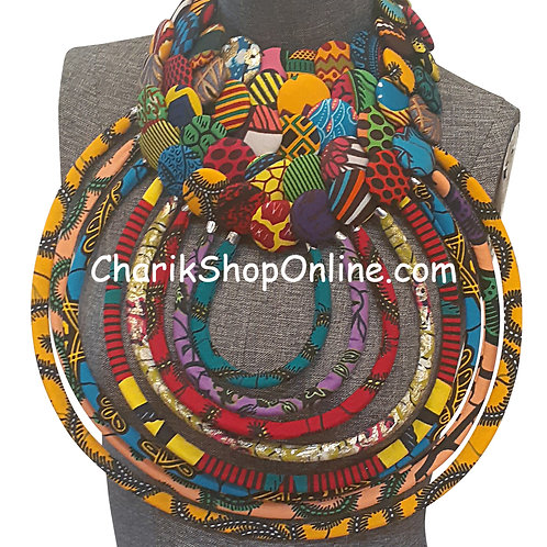 African Bib Necklace #1