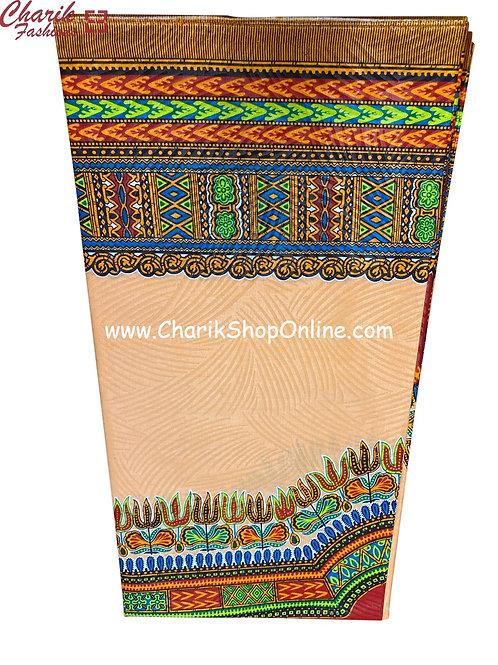 African Wax Print  6 yards/ Ankara fabric/ Pink Dashiki Angelina ankara/