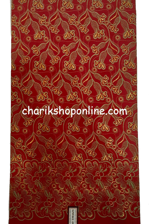 African Wax Print 6 yards/ Ankara fabric/ Raised Burgundy Bloom ankara/