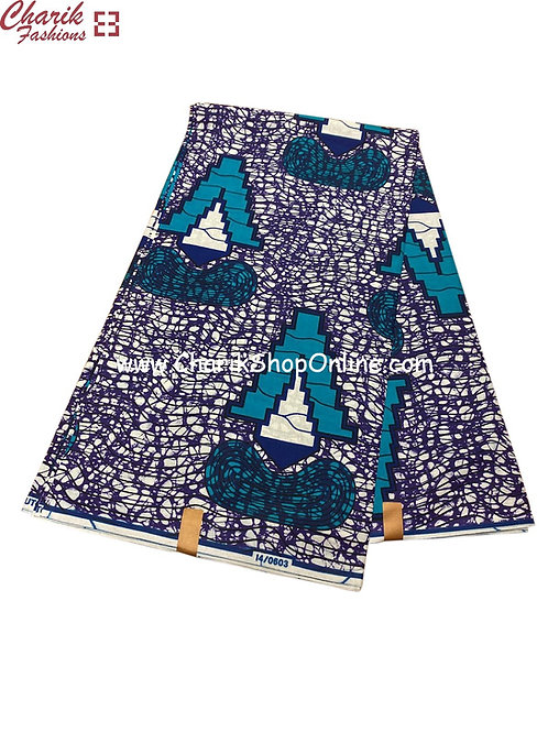 African Wax Print  6 yards/ Ankara fabric/ V ankara/