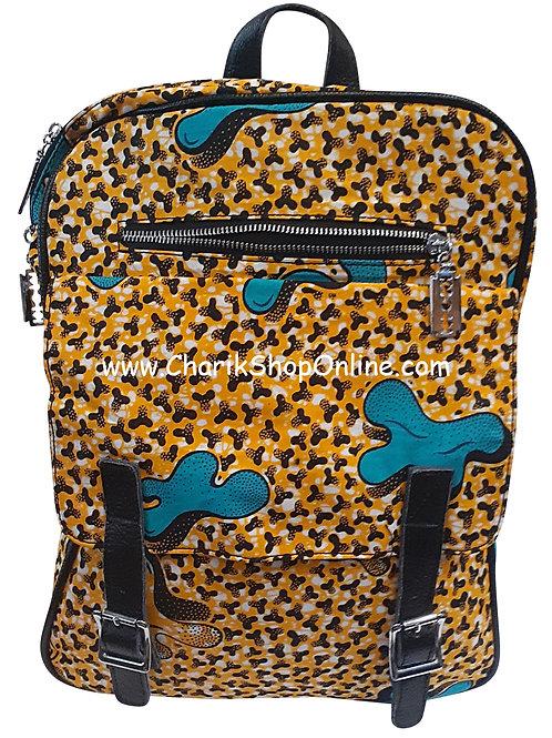 Ankara purse/ kente purse/ Ankara bag/African print bag Brown Prong