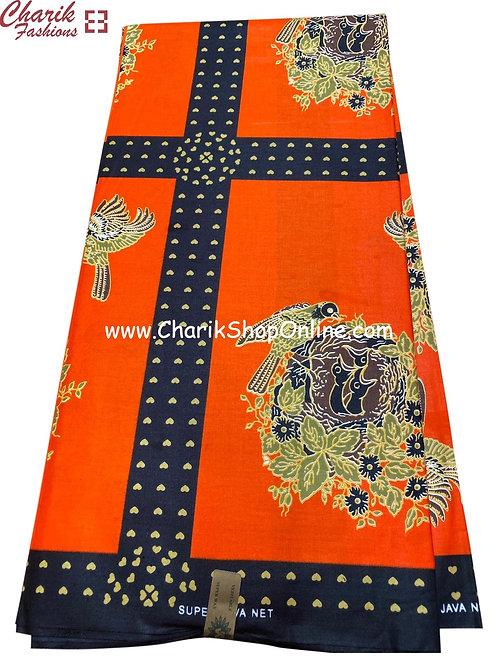 African Wax Print  6 yards/ Ankara fabric/ Golden nest ankara/