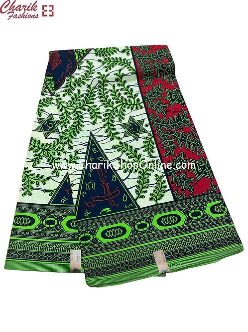 African Wax Print  6 yards/ Ankara fabric/ 6 Star ankara/