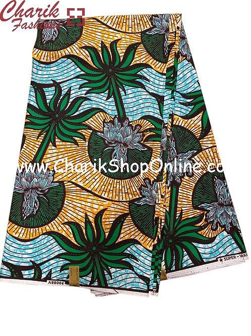 African Wax Print  6 yards/ Ankara fabric/ Oasis ankara/