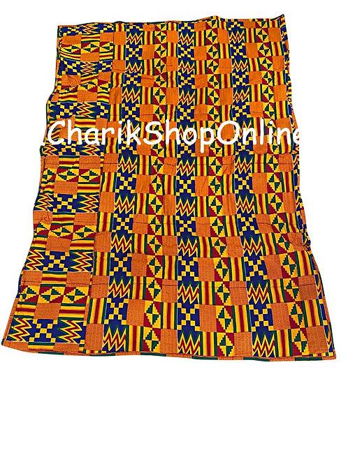 African print blanket Kente
