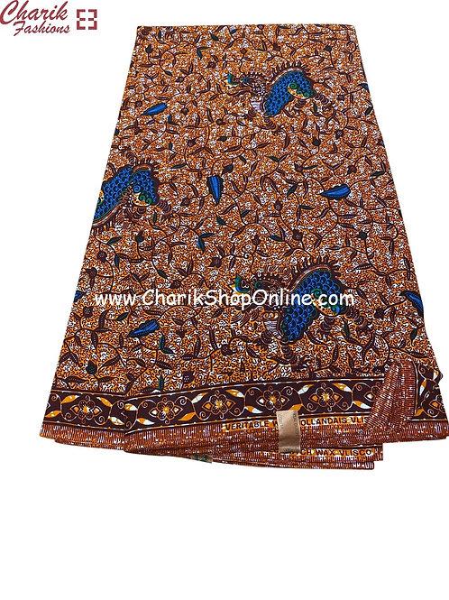 African Wax Print  6 yards/ Ankara fabric/ In tree ankara/