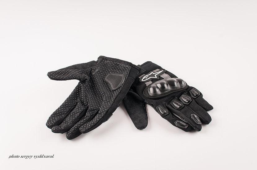 Велоперчатки ALPINE STARS черные