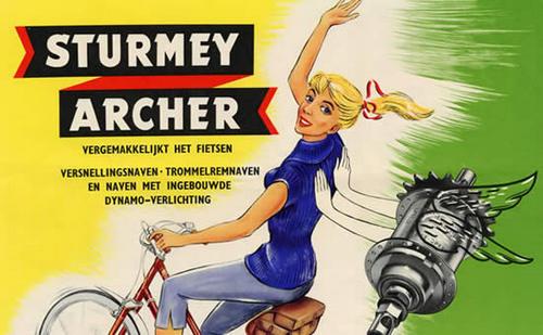 Реклама  Sturmey Archer - фото