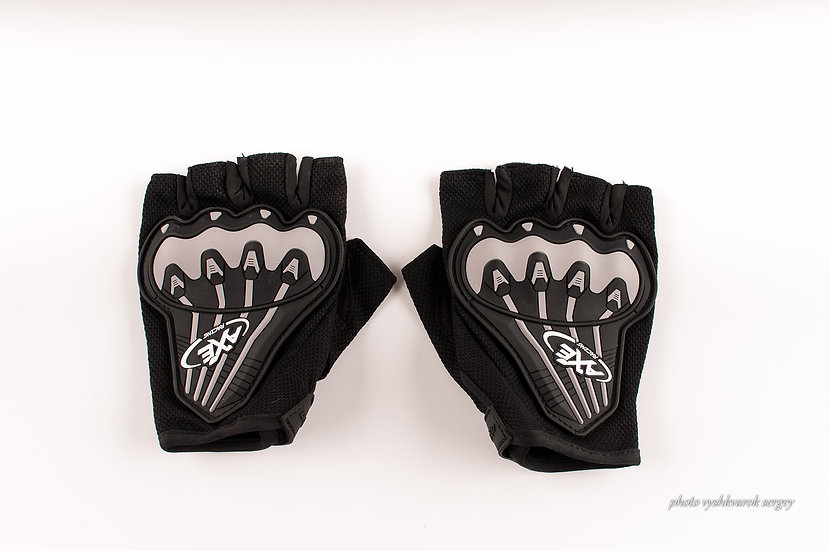 Велоперчатки AXE без пальцев-фото 1
