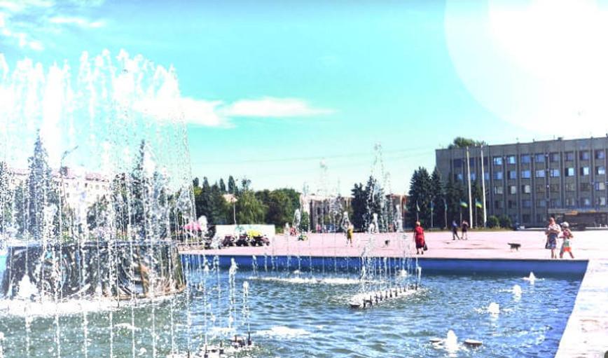 Площадь Славянск фото